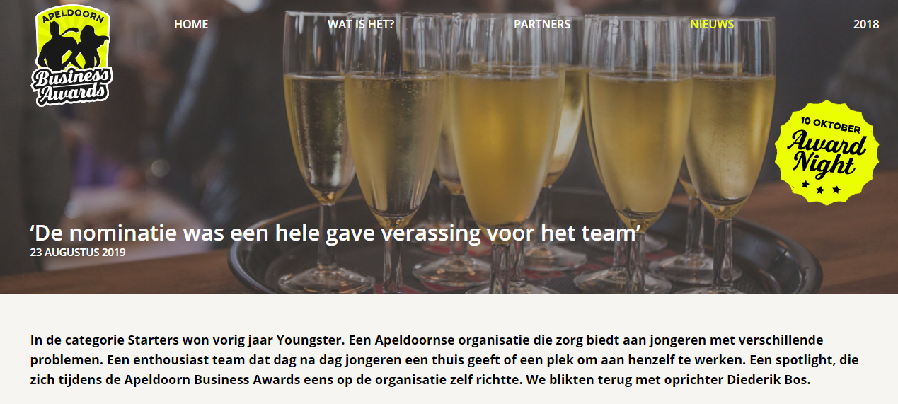 Apeldoorn Business Awards_Youngster_Influx